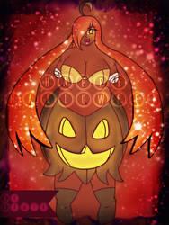 HAPPY (late) Halloween: Gourgeist Gijinka Love by GalPalsMMD