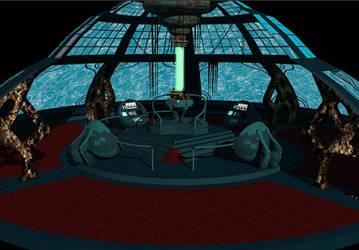 Tardis Console Room 3D by calamitySi