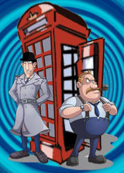 Inspector Spacetime by calamitySi