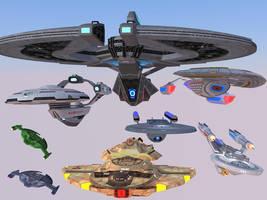 Ships Glorious Ships! by calamitySi
