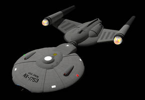 USS Orion NX-1753 #1 by calamitySi