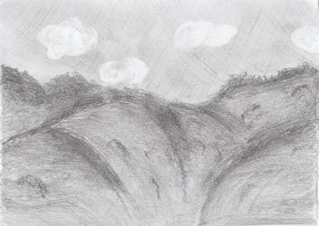 mountains by Relaen