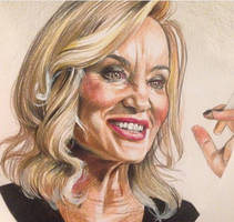Jessica Lange as Fiona Goode in ahs Coven by VikPiratenholz