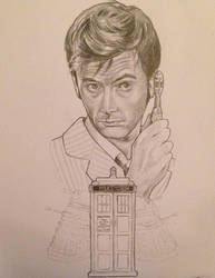 David Tennant in Doctor WHO by VikPiratenholz