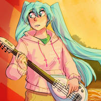 Vocaloid -Everytime cover ft. Miku- by 2D-Kiryu
