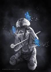[Butterfly boy] by blakitu