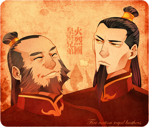 the fire nation brothers by freestarisis