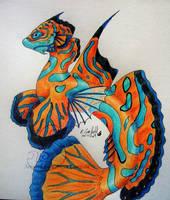Mandarin serpent by chaosia