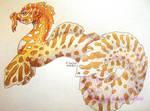 dragon eel by chaosia