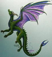 Green dragon by chaosia