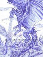 Dragon Sketch by chaosia