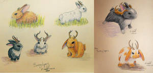 Bunnylopes by chaosia