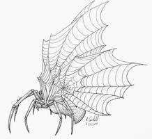 Arachnophobe's Nightmare by chaosia