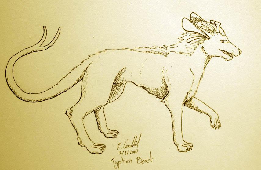 CF- Typhonic Beast by chaosia