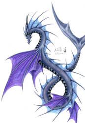 sea serpent by chaosia