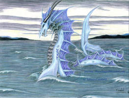 sea monster - xmas gift by chaosia