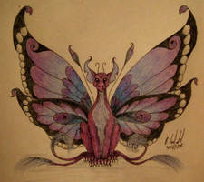 Draclais faeisoptera by chaosia