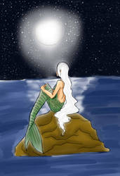 Moonlight Mermaid by Lea-chan13
