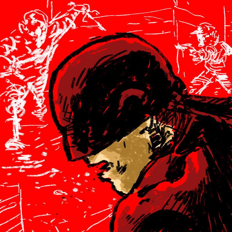 Daredevil by jaimecastro