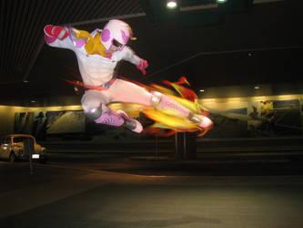 A Real Falcon Kick by KaZzu