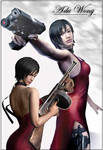 Resident Evil - Ada Wong 5 by Maza117