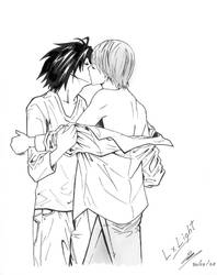 L and Light -yaoi- by Gaby-Aya