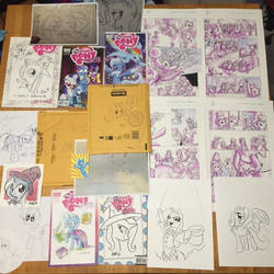 My Trixie collection - original art by ramivic