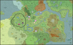 Large map of Felarya by Karbo