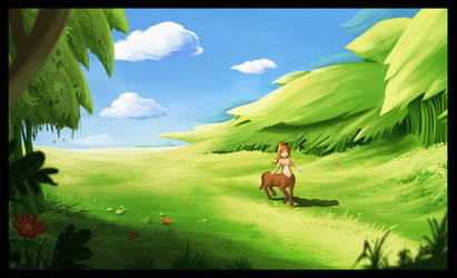 Centaur day by Karbo