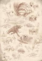 Felaryan fauna by Karbo
