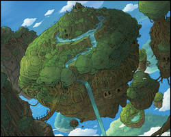 Floating islands by Karbo