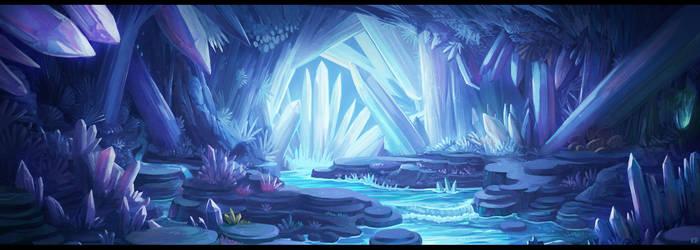 Crystal cave by Karbo