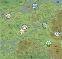 Felarya map by Karbo