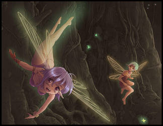 Carefree as a fairy by Karbo