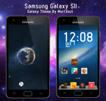 Samsung Galaxy SII Galaxy Theme by MurTXazI