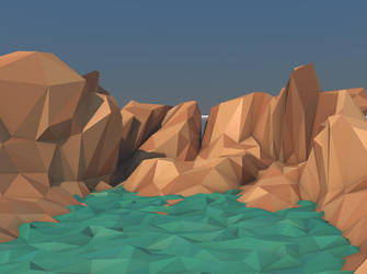 Low Poly Mountains by MurTXazI
