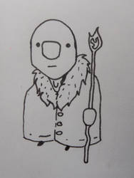 cartoony Creature sketch by TREBJESANINart