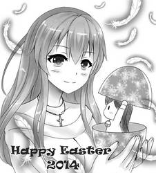Happy Easter 2014 by snowshinejr