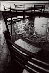 cafe after rain by fuckeymouse