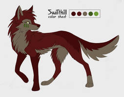 Swiftkill color Sheet by KayFedewa