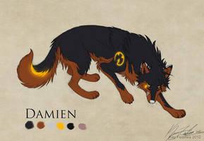 Commission - Damien by KayFedewa