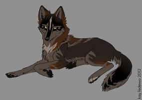 Herbalist Wolf by KayFedewa