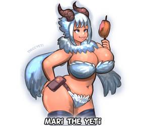 Mari the Yeti by thiccyeti