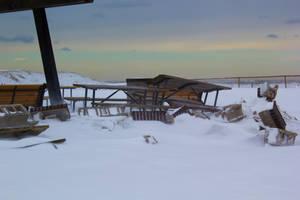 Snowy Beach 6 by editingninja