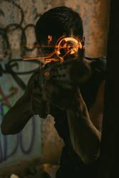 Chris Scifi Gun HUD by editingninja