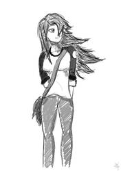 Fisher - Quick Sketch by Archymedius