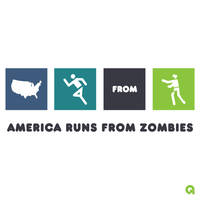 America Runs From Zombies by Archymedius
