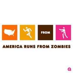 America Runs From Zombies (DD Alt) by Archymedius