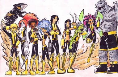 New X-Men- Gangs' all here by suicidalassassin