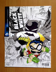 batman and robin chibi by freetoons